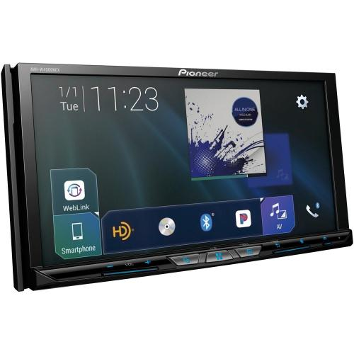 """Petra - 7"""" Flagship Double-DIN In-Dash Wireless DVD Receiver with Motorized Display, Wireless Apple CarPlay , Android Auto Wireless, Bluetooth®, HD Radio & SiriusXM® Ready"""