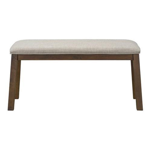Standard Furniture - Caswell Dark Brown Dining Bench