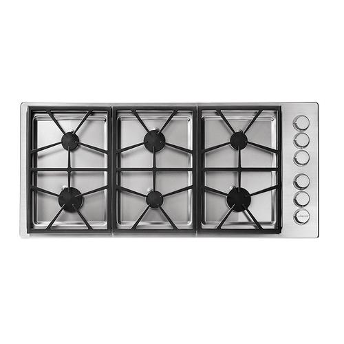 "46"" Professional Gas Cooktop, Liquid Propane/High Altitude"