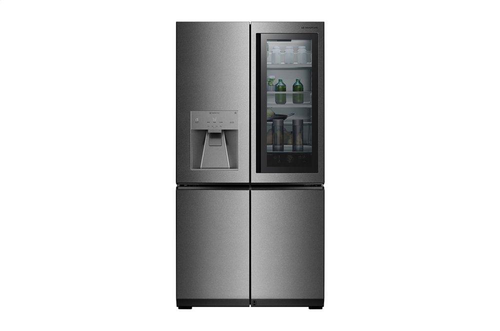 LG AppliancesLg Signature 23 Cu. Ft. Smart Wi-Fi Enabled Instaview™ Door-In-Door® Counter-Depth Refrigerator
