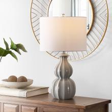 Wade Ceramic Table Lamp - Grey