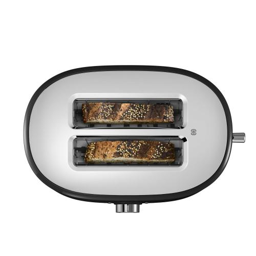 2-Slice Toaster with High Lift Lever - Onyx Black