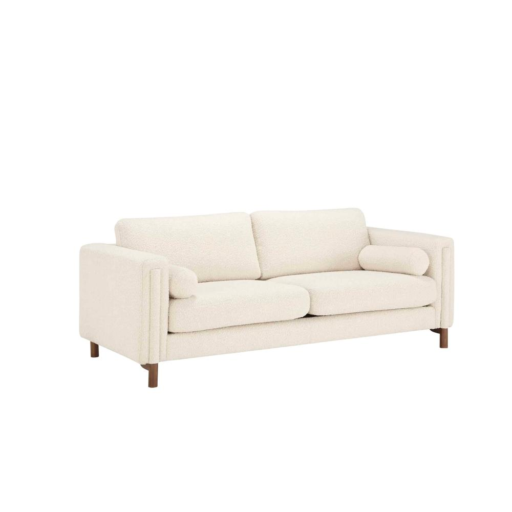 Larsen Upholstered Sofa in Ivory Boucle by A.R.T. Furniture