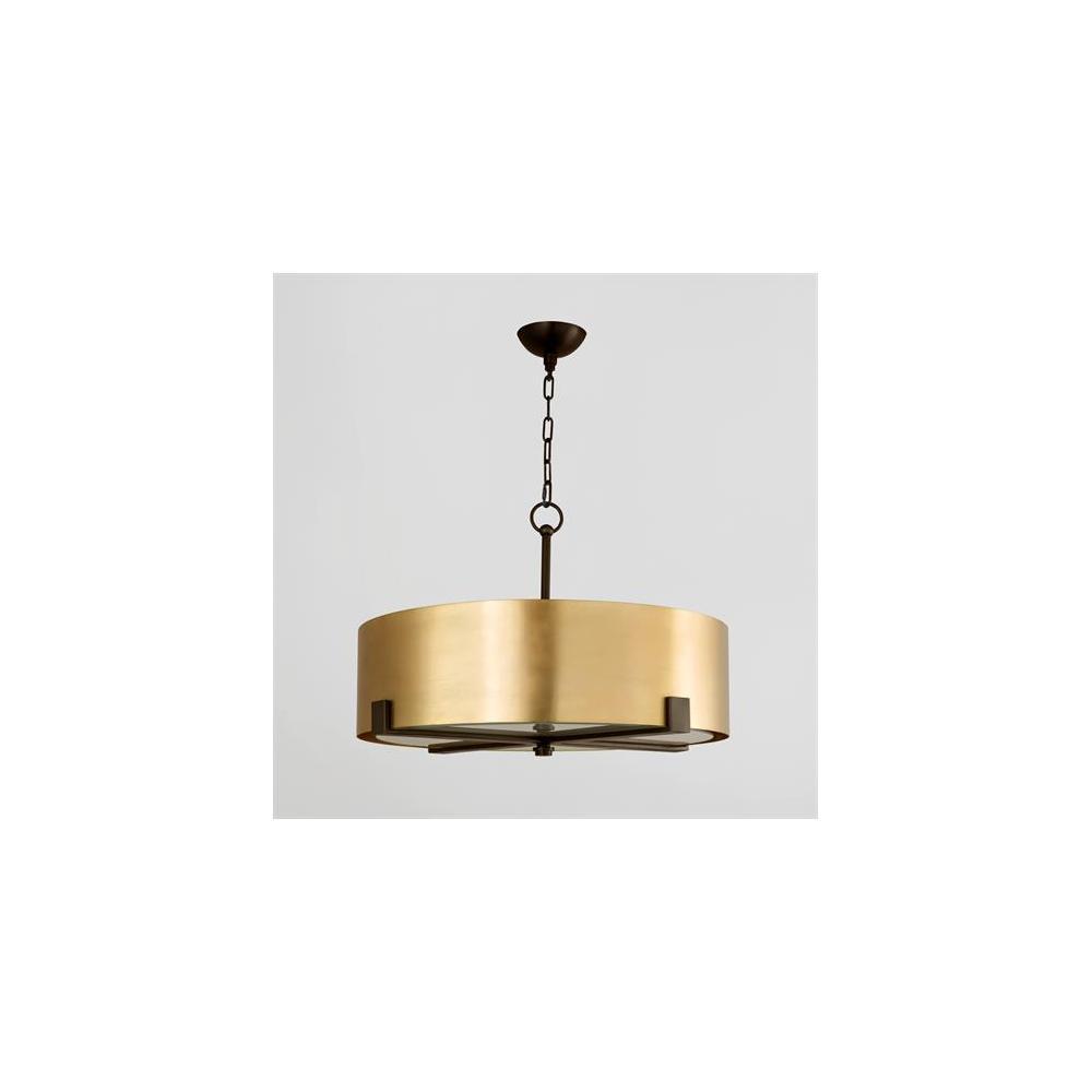 Empire Pendant-Brass/Bronze