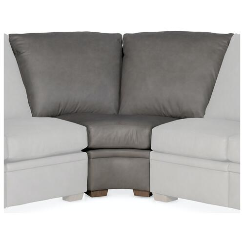 Bradington Young Sectionals 206 Robinson Reclining Sectional with One-Piece Back