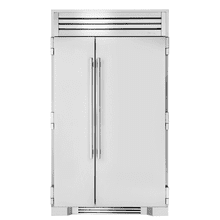 See Details - 48 Inch Solid Stainless Door Side-by-Side