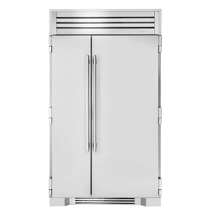 True Residential 48 Inch Solid Stainless Door Side-By-Side
