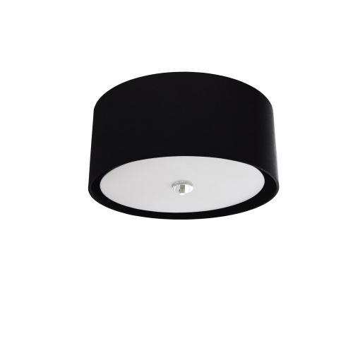 Product Image - 3lt Helena Flush-mount Pc, Black W/white Diffuser