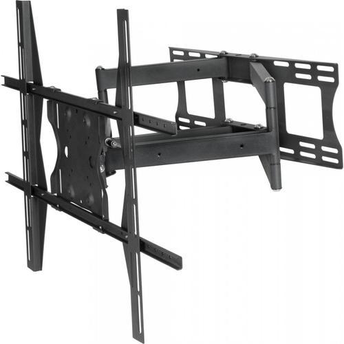 "Dual Arm Articulating (Full Motion) Outdoor Weatherproof Mount for 49"" - 80"" TV Screens & Displays - SB-WM-ART2-XL-BL (Black)"