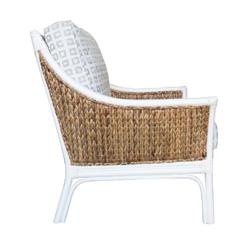 Occassional Chair, Available in Seaside Finish Only.
