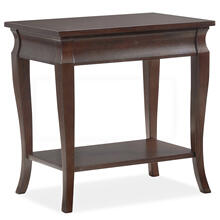 Luna Narrow Chairside Table #11605-CH