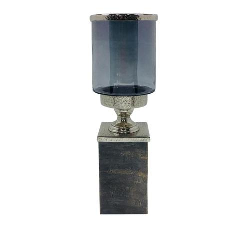 Crestview Collections - Medium Gregory Hurricane on Textured Plinth Base