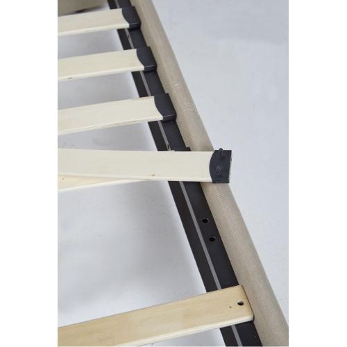 Grayling Platform Bed - King, Sandstone
