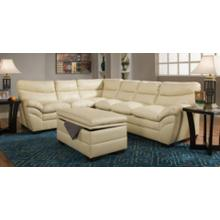 Soho Natural Bonded Leather Right Face Sofa