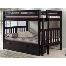 Roma Bunk Bed With Short Ladder