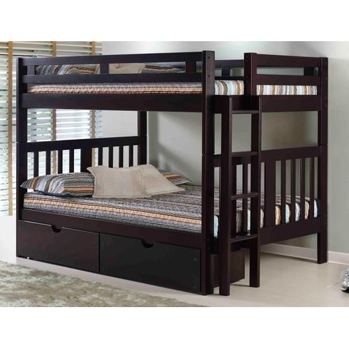 Roma Bunk With Short Ladder With Ubc