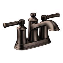 Dartmoor oil rubbed bronze two-handle bathroom faucet
