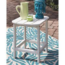 Sundown Treasure Rectangular End Table White