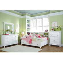 Twin Bookcase Bed With Dresser