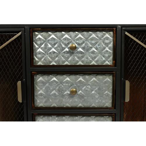 Emerald Home Ac500 Laurell Hill Buffet, Patina Gray