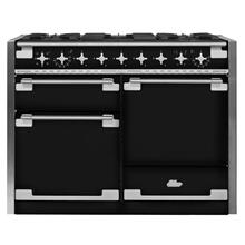 View Product - Gloss Black AGA Elise Dual Fuel Range  AGA Ranges