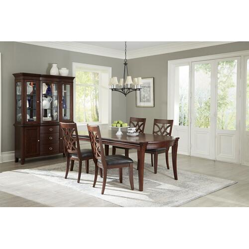 Standard Furniture - Wellsville Dining Hutch, Brown