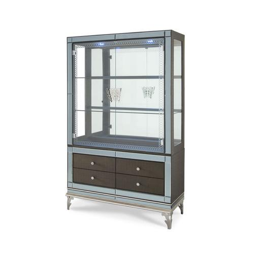 Curio with Drawers (2 pc)