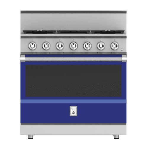 "Hestan - 36"" 5-Burner All Gas Range - KRG Series - Prince"