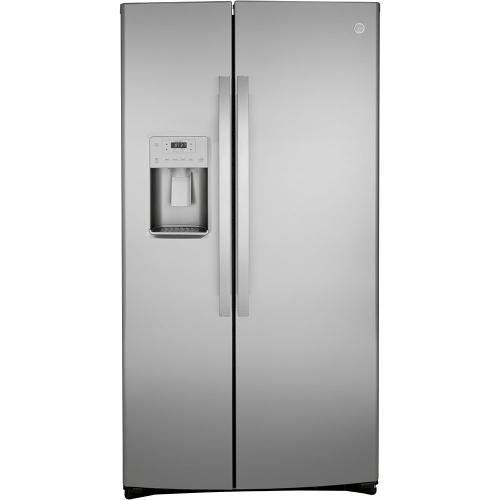 GE 25.1 Cu. Ft. Side-By-Side Refrigerator Stainless Steel - GSS25IYNFS