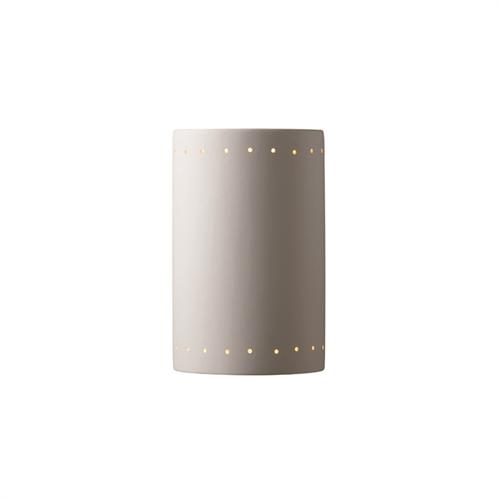 Large ADA Cylinder w/ Perfs - Closed Top - Outdoor