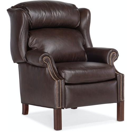 Bradington Young Chippendale Reclining Wing Chair 4114