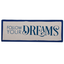 """See Details - """"Follow Your Dreams"""" Peek-a-Boo Tote Insert."""