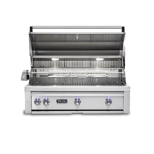 "42""W. Built-in Grill with ProSear Burner and Rotisserie - VQGI5421"