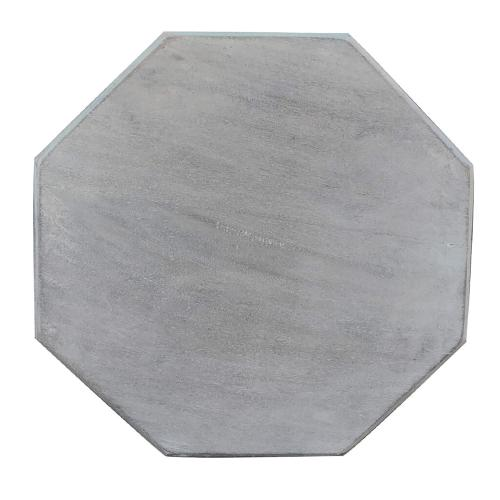 Octagon Side Table - Stonewall Gray