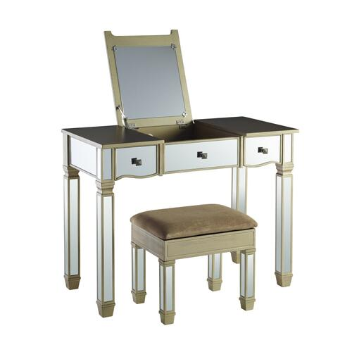 Vanity With Stool, Glamour