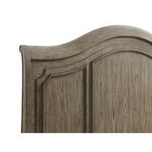 See Details - Full/queen Panel Headboard - Antique Oak Finish