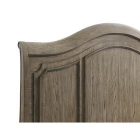 Louis Farmhouse - Full/queen Panel Headboard - Antique Oak Finish