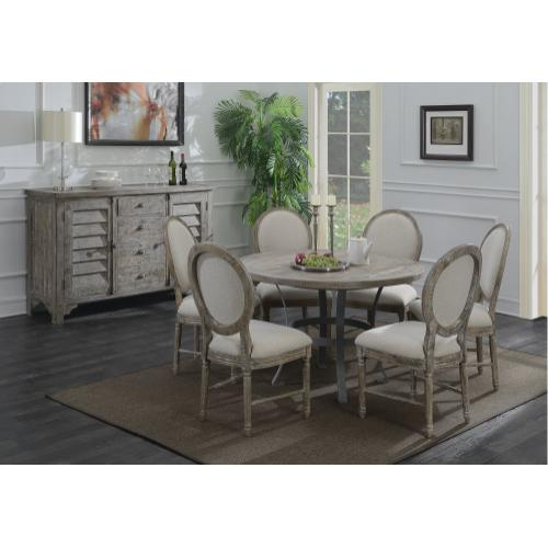 Interlude Round Dining Table