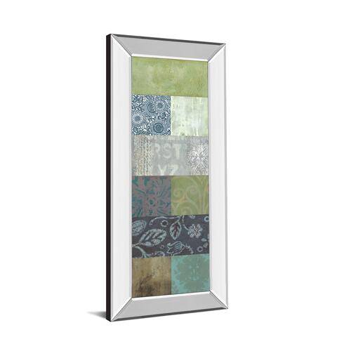 """Zen Panel I"" By Vision Studio Mirror Framed Print Wall Art"