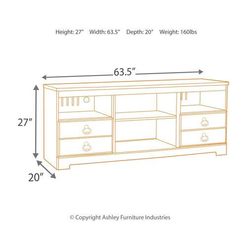 "Willowton 63"" TV Stand"