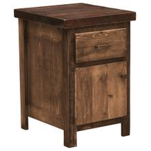 Enclosed Nightstand - WoodShop Stains