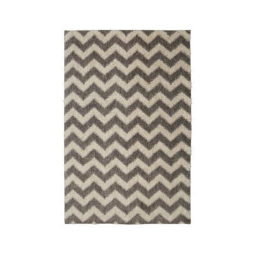 Mohawk - Stitched Chevron, Gray- Rectangle