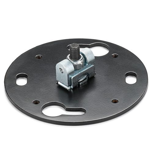 Pin Connection Flat Ceiling Plate