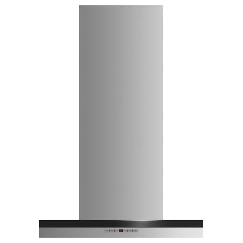 "Fisher & Paykel - Wall Range Hood, 24"", Box Chimney"