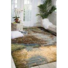 Rhapsody Rh016 Ocean Rectangle Rug 5'6'' X 8'