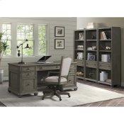 Sloane - Upholstered Desk Chair - Gray Wash Finish