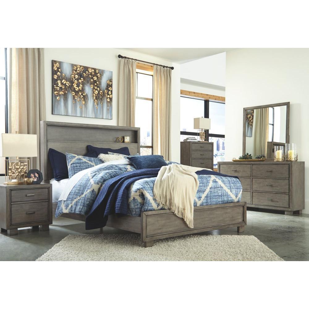 Arnett Queen Bookcase Bed
