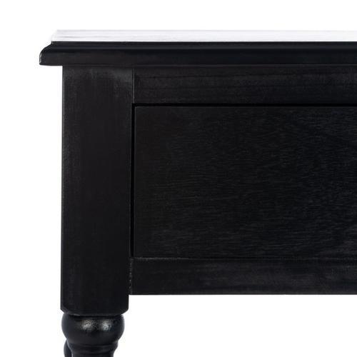 Safavieh - Athena 2 Drawer Console Table - Black