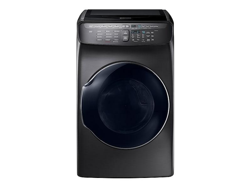 Samsung7.5 Cu. Ft. Smart Electric Dryer With Flexdry™ In Black Stainless Steel