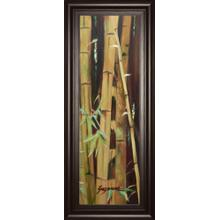 """""""Bamboo Finale Il"""" By Suzanne Wilkins Framed Print Wall Art"""